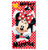 Disney Minnie Mouse Red - Beach towel - 70 x 140 cm - Red