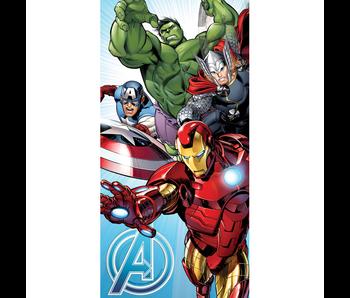 Marvel Avengers Strandlaken Blue 70 x 140 cm