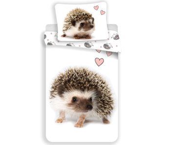 Animal Pictures Duvet cover Hedgehog 140x200 cm