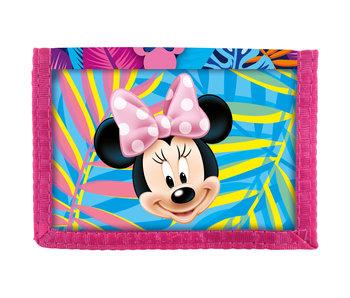 Disney Minnie Mouse Brieftasche Frühlingspalmen