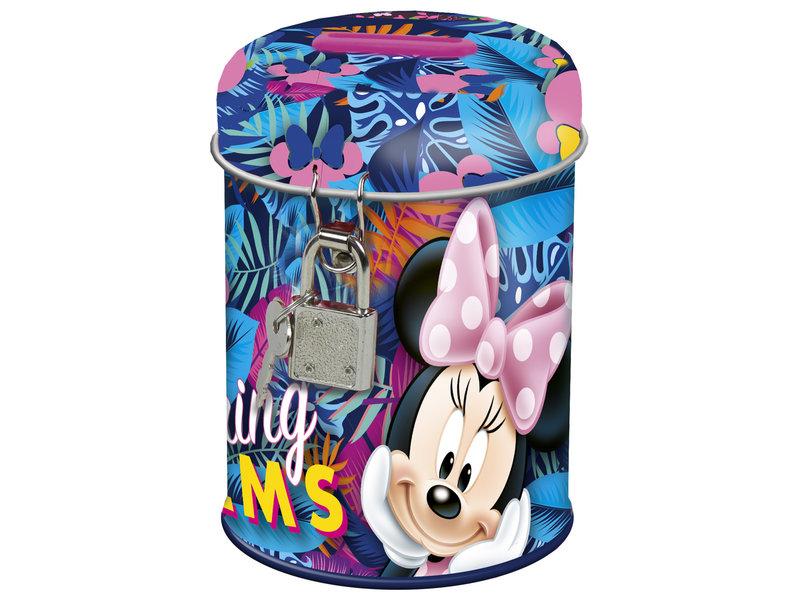 Disney Minnie Mouse Spring Palms - Money box - 11.5 cm - Multi