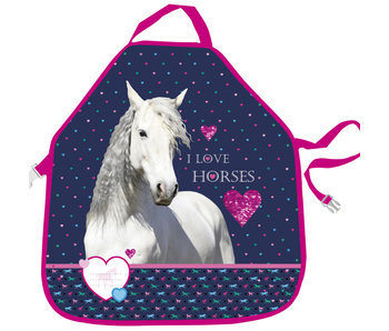Animal Pictures Schort Love Horses 53 cm