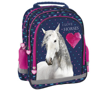 Animal Pictures Backpack Love Horses 38 cm