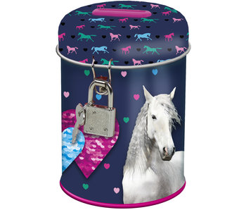 Animal Pictures Savingspot Love Horses 11.5cm