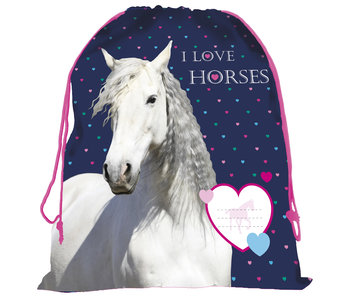 Animal Pictures Love Horses Gymbag 42 cm