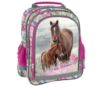 Animal Pictures Horse and Foal backpack 38 cm