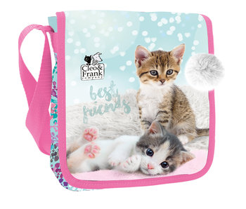 Cleo & Frank Kittens Shoulder bag 24 cm