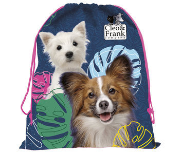 Cleo & Frank Dogs Gymbag 42 cm