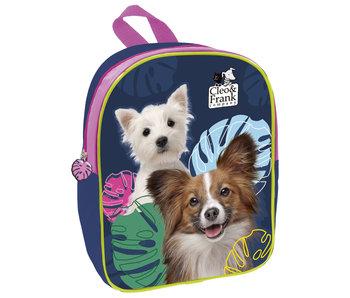 Cleo & Frank Toddler / Toddler Backpack Dogs