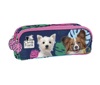Cleo & Frank Pouch Dogs 21 cm
