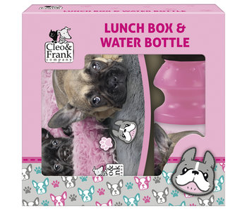 Cleo & Frank Set Lunchbox + Bidon Dogs