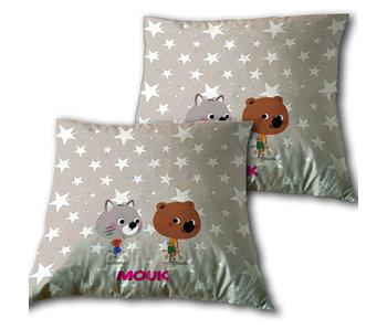 Mouk Cushion Friends 35x35cm