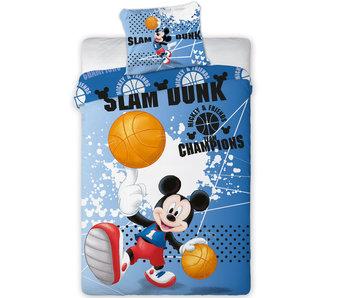 Disney Mickey Mouse Housse de couette Slam Dunk, 140x200 cm
