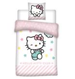 Hello Kitty Club - Duvet cover - Single - 140 x 200 cm - Multi