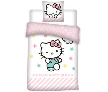 Hello Kitty Dekbedovertrek Club polyester 140x200 cm