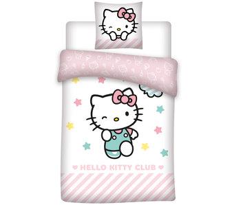 Hello Kitty Enveloppe de couette Club polyester 140x200 cm