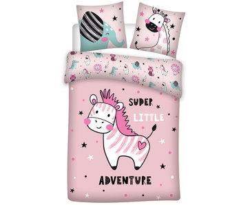 Zebra Adventure Bettbezug 140 x 200 cm