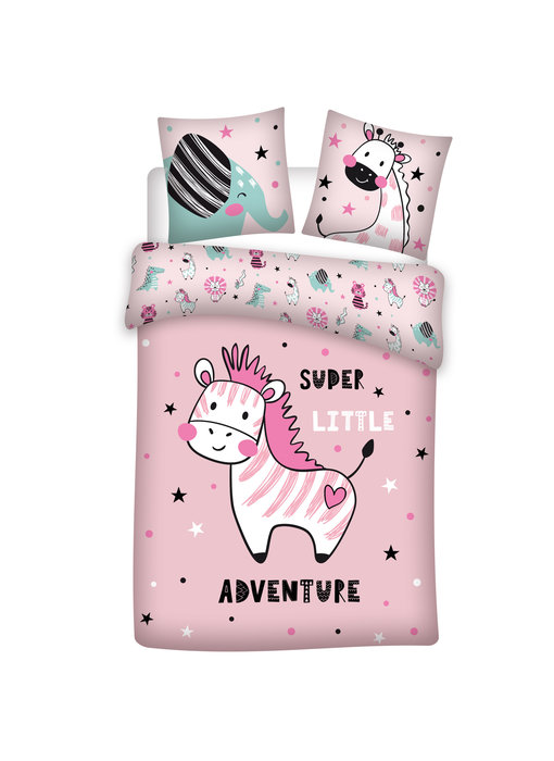 Zebra Adventure duvet cover 140 x 200 cm