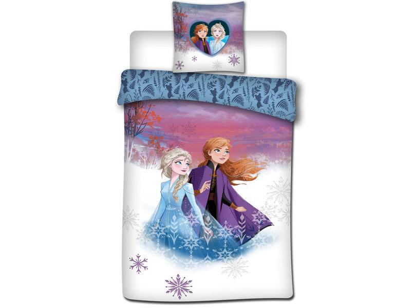 Disney Frozen - Duvet cover - Single - 140 x 200 cm - Multi