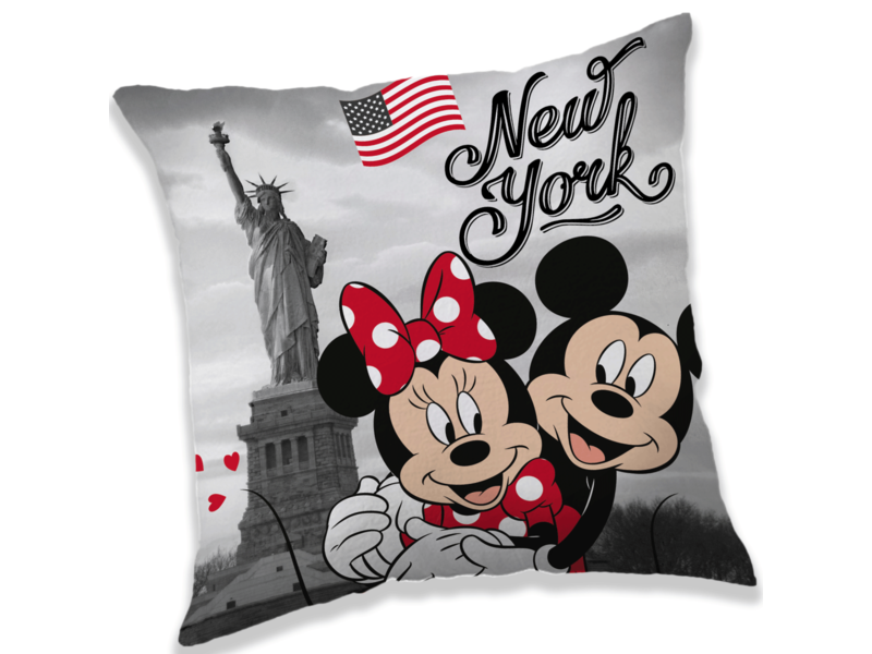 Disney Minnie Mouse New York - Sierkussen - 40 x 40 cm - Multi