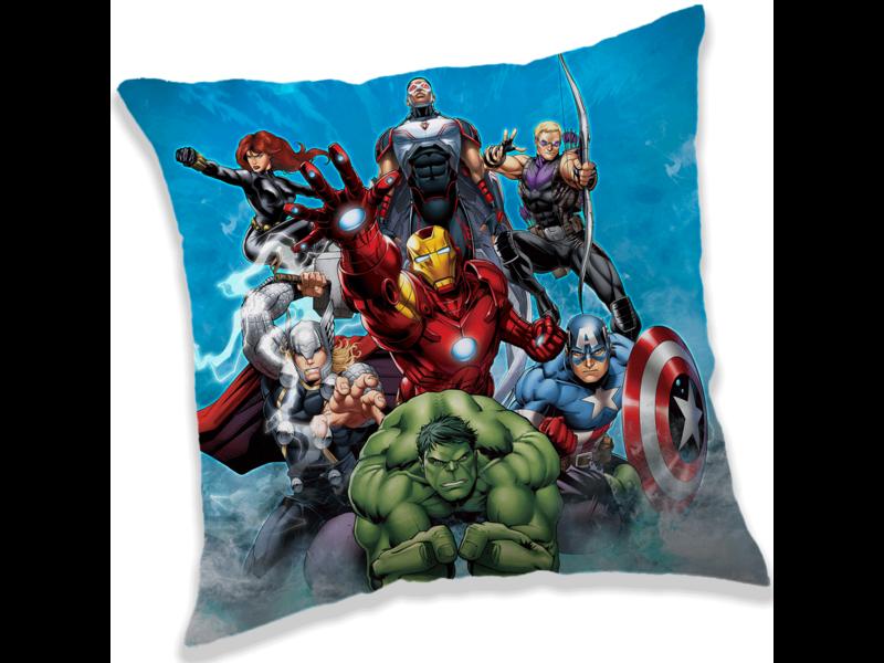 Marvel Avengers Team - Cushion - 40 x 40 cm - Multi