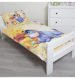 Disney Winnie the Pooh  - Baby Dekbedovertrek - 100 x 135 cm - Geel