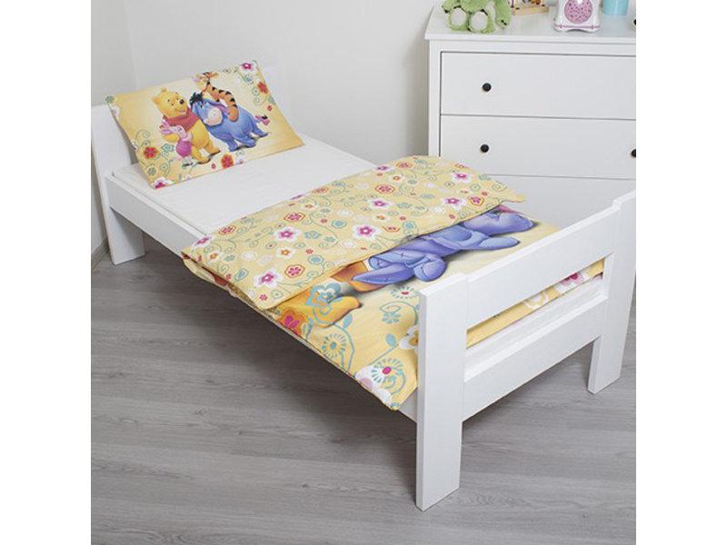 Disney Winnie the Pooh - Baby Bettbezug - 100 x 135 cm - Gelb