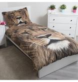 Animal Pictures Löwe - Bettbezug - Einzel- 140 x 200 cm - Multi
