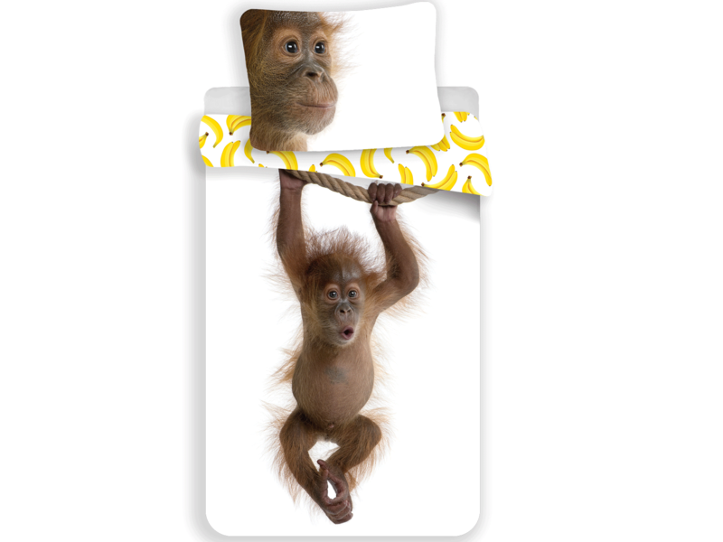 Animal Pictures Orang-utan - Duvet cover - Single - 140 x 200 cm - Multi