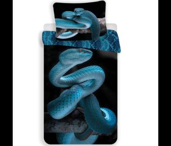Animal Pictures Dekbedovertrek Snake 140x200 cm