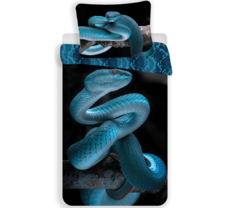 Animal Pictures Duvet cover Snake 140x200 cm