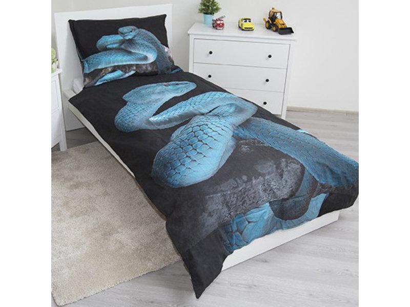 Animal Pictures Schlange - Bettbezug - Einzel - 140 x 200 cm - Multi