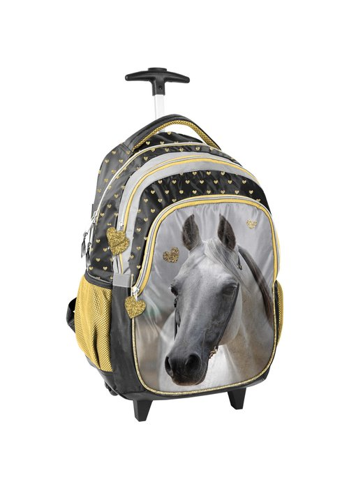 Animal Pictures Wit Paard Trolley 45 cm