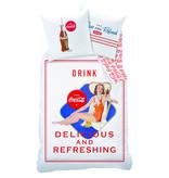 Coca Cola Suzanna - Dekbedovertrek - 140 x 200 cm + 63 x 63 - Multi