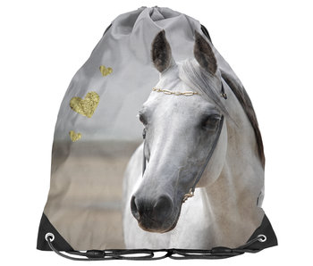 Animal Pictures Gymbag White Horse 38 cm