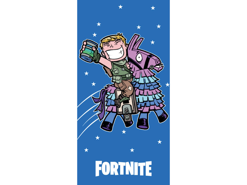 Fortnite Juice - Beach towel - 70 x 140 cm - Blue