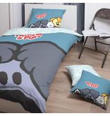Woezel & Pip Woezel - Bettbezug - Single - 140 x 200 cm - Multi