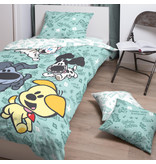 Woezel & Pip Spielen - Bettbezug - Single - 140 x 200 cm - Multi