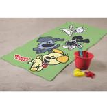 Woezel & Pip Play Green - Serviette de plage - 75 x 150 cm - Multi