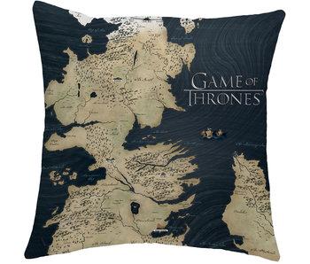 Game of Thrones Westeros Kussen 40 x 40 cm