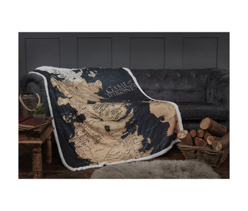 Game of Thrones Westeros Sherpa Couverture 120 x 150 cm