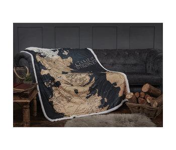 Game of Thrones Westeros Sherpa Decke 120 x 150 cm