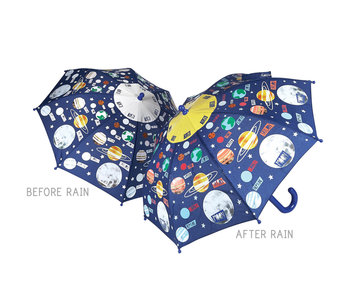 Floss & Rock Farbwechsel Regenschirm Planeten
