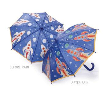 Floss & Rock Farbwechsel Regenschirm Rocket