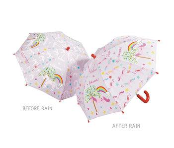Floss & Rock Farbwechsel Regenschirm Einhorn