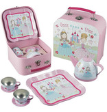 Floss & Rock Princess - Service à thé en étain - 7 pièces - Multi