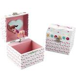 Floss & Rock Unicorn Music / Jewelry box - 10.5 x 10.5 x 10.2 cm - Multi