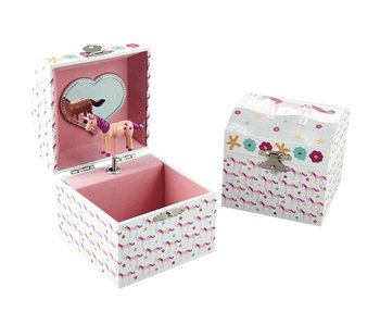 Floss & Rock Unicorn Music / Jewelry box - 10.5 x 10.5 x 10.2 cm