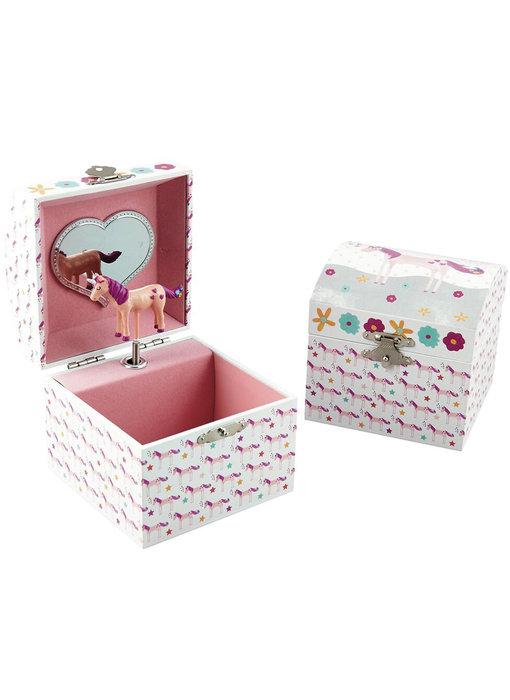 Floss & Rock Unicorn Music / Jewelry box - 10.5 x 10.5 x 10.2 cm