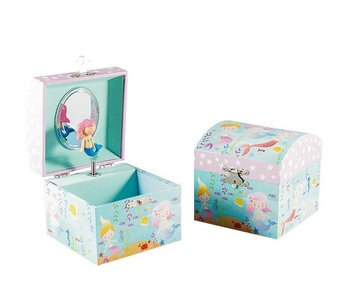 Floss & Rock Mermaid Music / Jewelry box - 10.5 x 10.5 x 10.2 cm